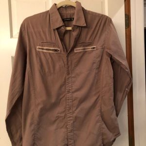 Light brown/taupe Alternative casual button down